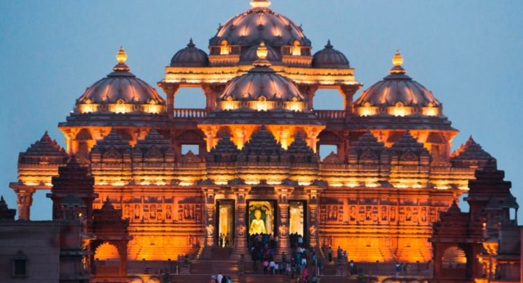 Uaes First Hindu Temple Becomes The Reason Behind The Grin